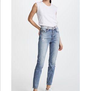 Current/Elliott High Rise Slim Leg Jean Size 29